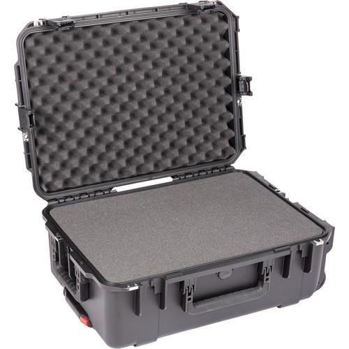 SKB iSeries 2215-8 Waterproof Utility Case with Wheels and Cubed Foam (Black)