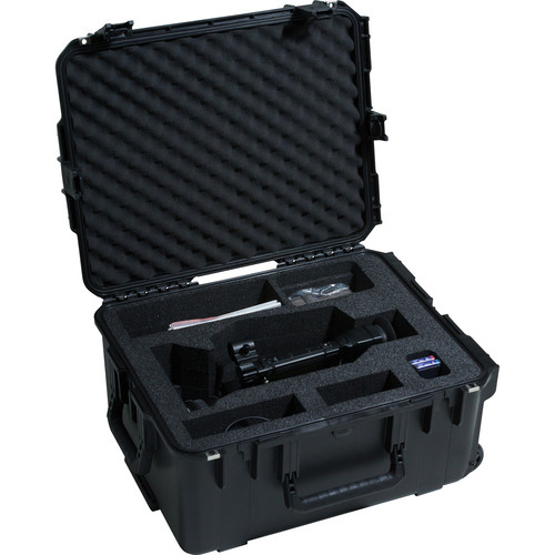 SKB iSeries Sony PMW-F3/Panasonic AG AC160 Case with Wheels & Pull Handle