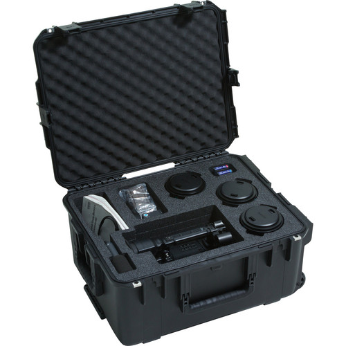 SKB iSeries 3i-221710PMW Waterproof Sony PMW-F3 Camera Case with Wheels and Pull Handle