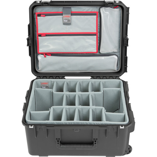 SKB iSeries 2217-10 Case with Think Tank Photo Dividers &Lid Organizer (Black)