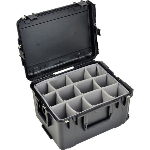 SKB iSeries 2217-12 Waterproof Utility Case with Padded Dividers