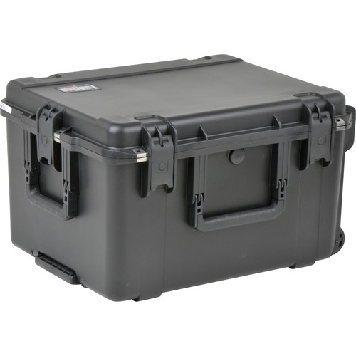 SKB iSeries 2217-12 Waterproof Utility Case with Wheels (Empty, Black)