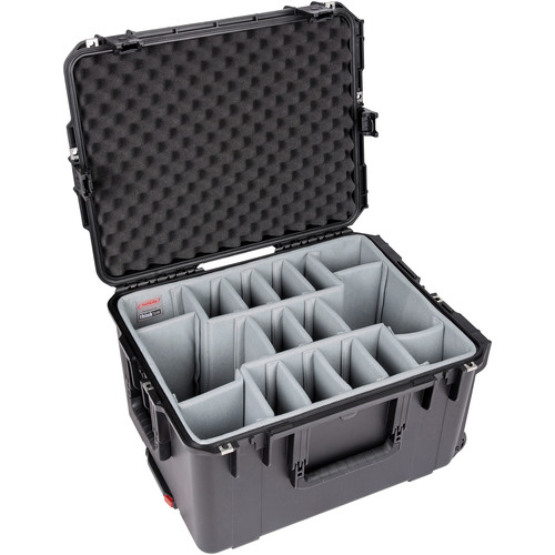 SKB iSeries 2217-12 Case with Think Tank Photo Dividers &Lid Foam (Black)