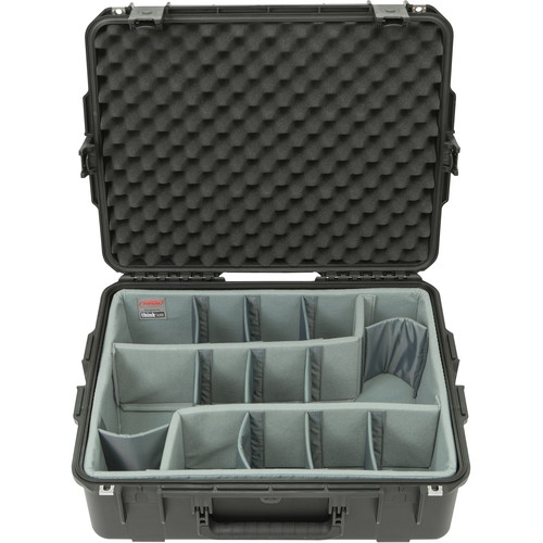 SKB iSeries 2217-8 Case with Think Tank Photo Dividers & Lid Foam (Black)