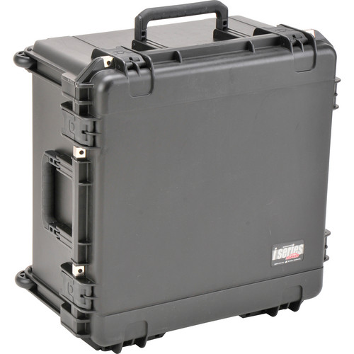 "SKB Watertight Case 12"" Deep with Wheels and Pull Handle (Empty)"