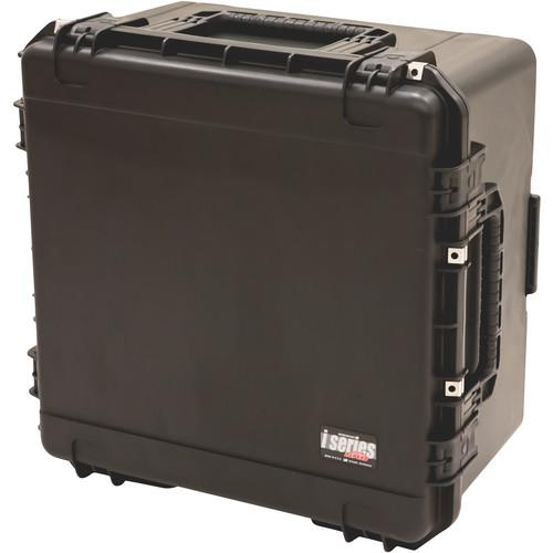 SKB iSeries Waterproof Utility Case with Cubed Foam Interior (Black)