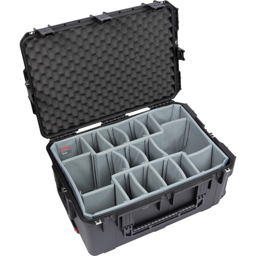SKB iSeries 2617-12 Case with Think Tank Photo Dividers &Lid Foam (Black)