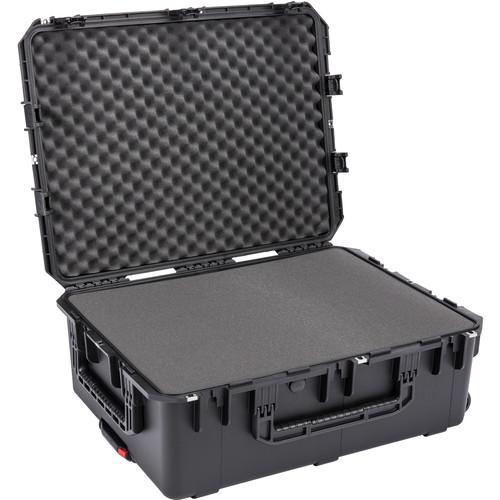SKB iSeries 2922-10 Waterproof Utility Case (Black, Cubed Foam)