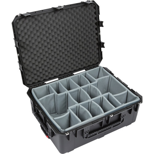 SKB iSeries 2922-10 Waterproof Utility Case (Black, Think Tank Padded Dividers)