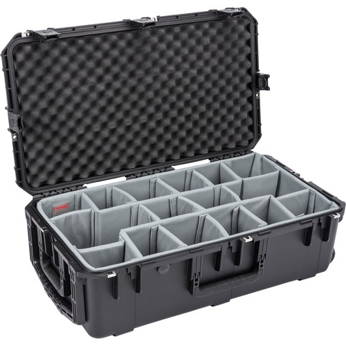 SKB iSeries 3016-10 Case with Think Tank Photo Dividers &Lid Foam (Black)