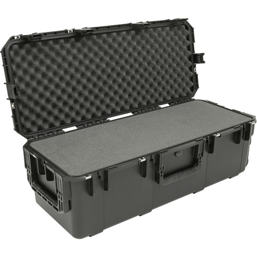 SKB iSeries 3613-12 Waterproof Wheeled Utility Case with Layered Foam (Black)