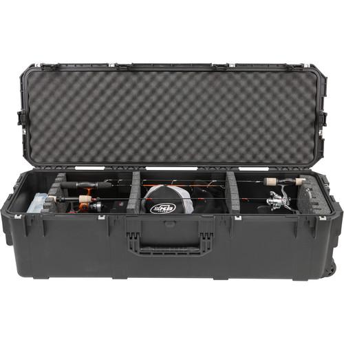 SKB iSeries 4213-12 Ultimate Ice Fishing Locker with Wheels (Black)