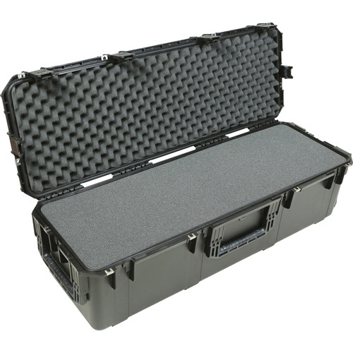 SKB iSeries 4213-12 Waterproof Case with Wheels and Layered Foam (Black)