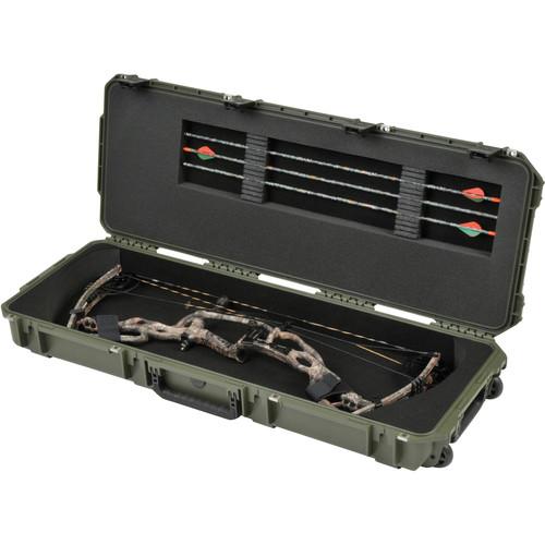 SKB iSeries 4214 Medium Parallel Limb Bow Case (OD Green)
