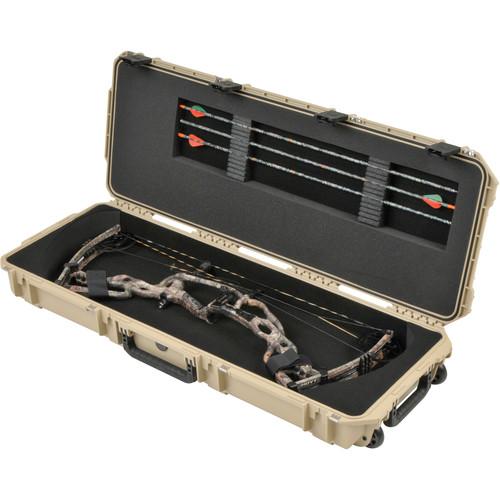SKB iSeries 4214 Medium Parallel Limb Bow Case (Desert Tan)