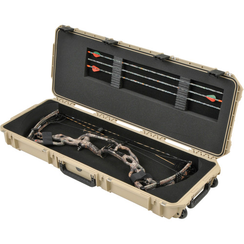 SKB iSeries 4214 Medium Parallel Limb Bow Case (Desert Tan)