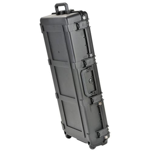 SKB iSeries Waterproof Acoustic Guitar Case with Wheels (Black)