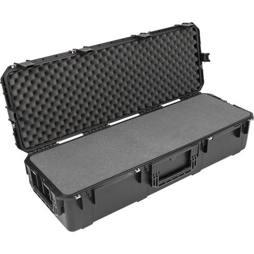 SKB iSeries 4414-10 Waterproof Utility Case with Wheels (Black, Layered Foam)