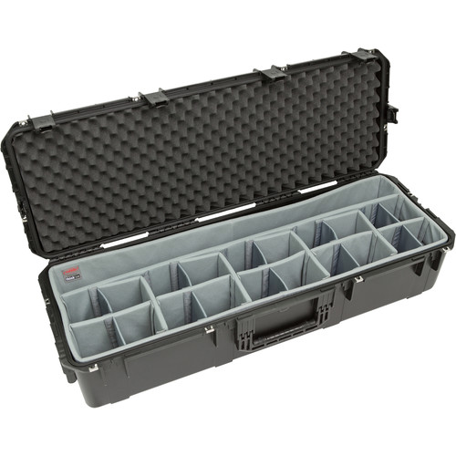 SKB iSeries 4414-10 Case with Think Tank Photo Dividers &Lid Foam (Black)