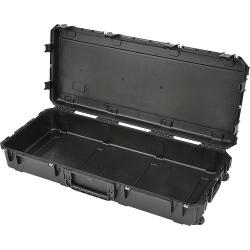 SKB iSeries 4719-8 Waterproof Utility Case with Wheels (Black, Empty)