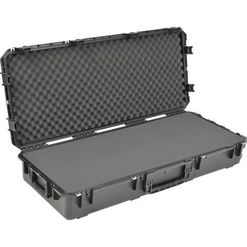 SKB iSeries 4719-8 Waterproof Utility Case with Wheels (Black, Layered Foam)