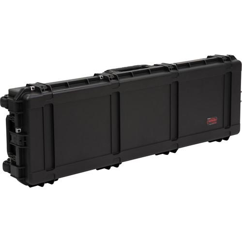 SKB iSeries 6018-8 Waterproof Utility Case with Wheels (Black, Layered Foam)