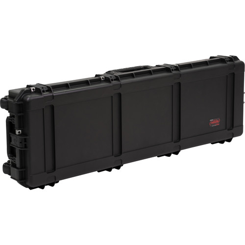 SKB iSeries 6018-8 Waterproof Utility Case with Wheels (Black, Layered Foam)