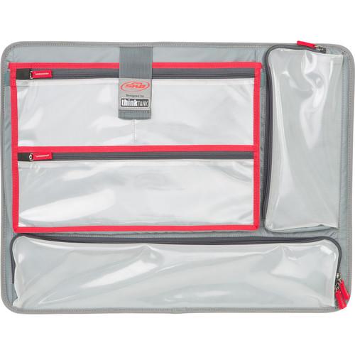 SKB Think Tank-Designed Lid Organizer/Laptop Holder for SKB iSeries 3i-2217
