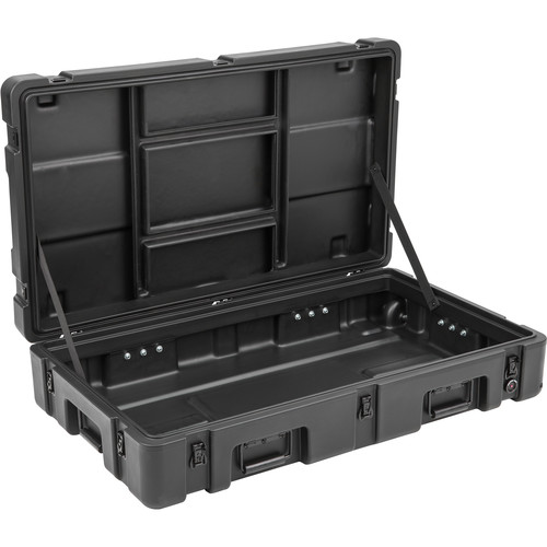 SKB R Series 3821-7 Waterproof Utility Case with Wheels (Black, No Foam)