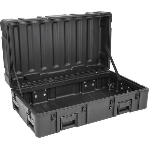 SKB R Series 4222-14 Waterproof Utility Casewith Wheels (Black, No Foam)