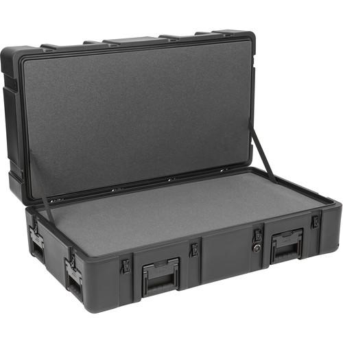 SKB R Series 4222-14 Waterproof Utility Case (Black, Layered Foam)