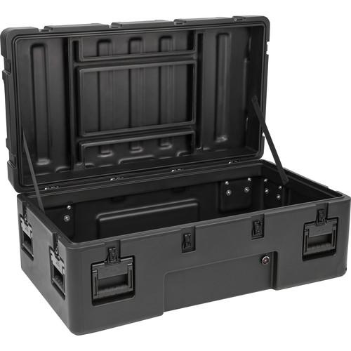 SKB R Series 4222-15 Waterproof Utility Casewith Wheels (Black, No Foam)