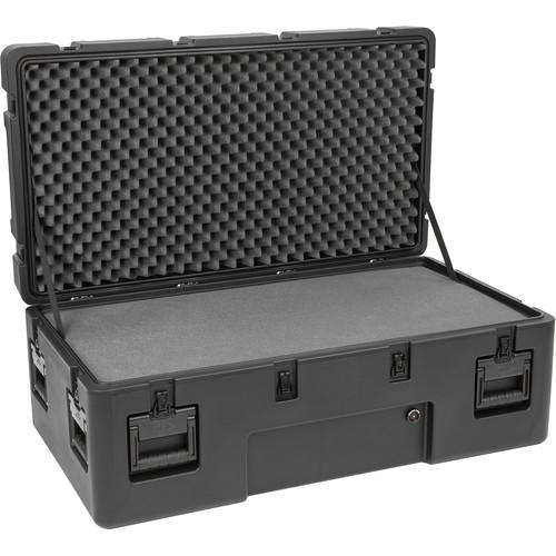 SKB R Series 4222-15 Waterproof Utility Casewith Wheels (Black, Layered Foam)