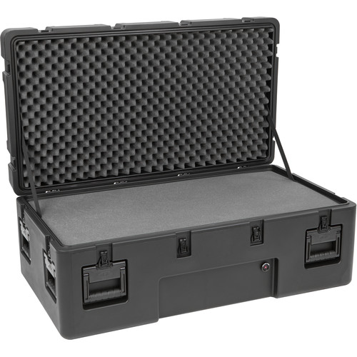 SKB R Series 4222-15 Waterproof Utility Case with Wheels (Black, Layered Foam)