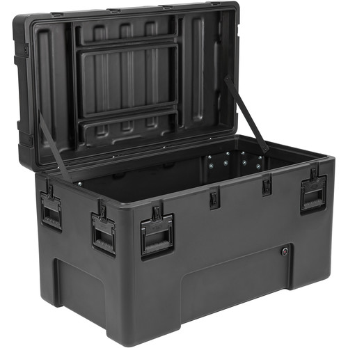 SKB R Series 4222-24 Waterproof Utility Case (Black, No Foam)