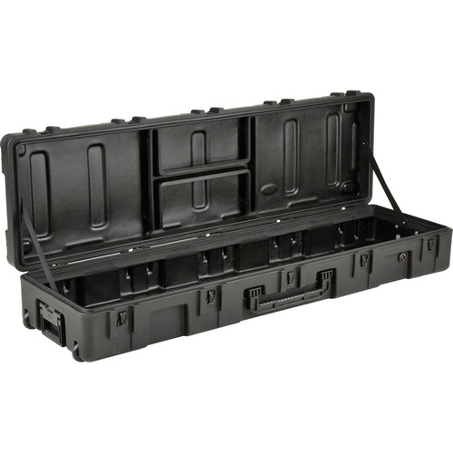 SKB 3R Series Waterproof Utility Case with Wheels (Empty, Black)