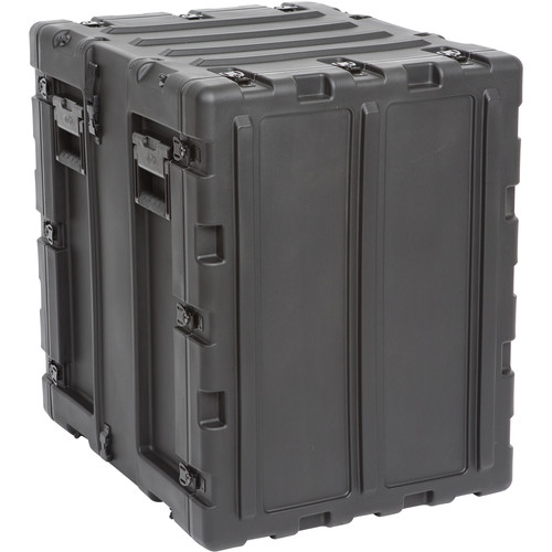"SKB 20"" Removable Shock Rack Transport Case (14 RU, Black)"