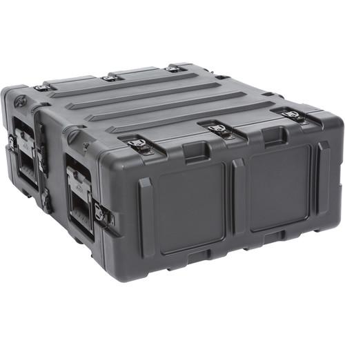 """SKB 20"""" Removable Shock Rack Transport Case (3 RU, Black)"""