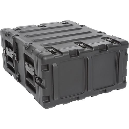 """SKB 20"""" Removable Shock Rack Transport Case (4 RU, Black)"""