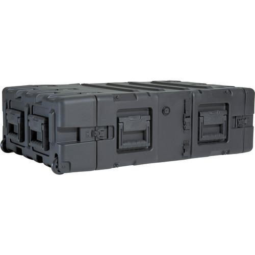"""SKB 3RR-4U24-25B 4U Removable Shock Rack and Transport Case (24"""")"""