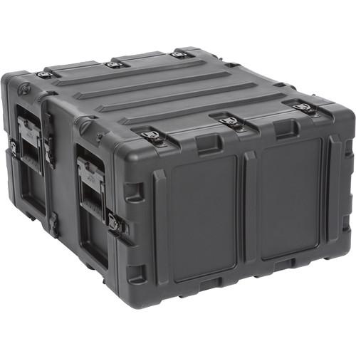 """SKB 20"""" Removable Shock Rack Transport Case (5 RU, Black)"""