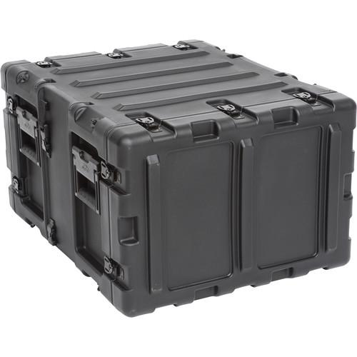 """SKB 20"""" Removable Shock Rack Transport Case (6 RU, Black)"""