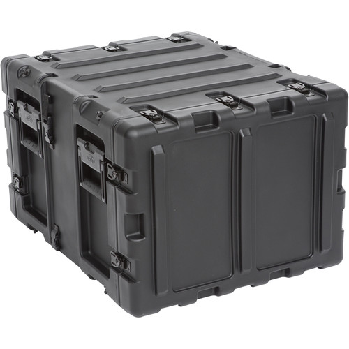 """SKB 20"""" Removable Shock Rack Transport Case (7 RU, Black)"""