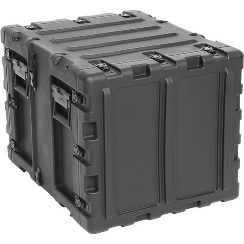 """SKB 20"""" Removable Shock Rack Transport Case (9 RU, Black)"""