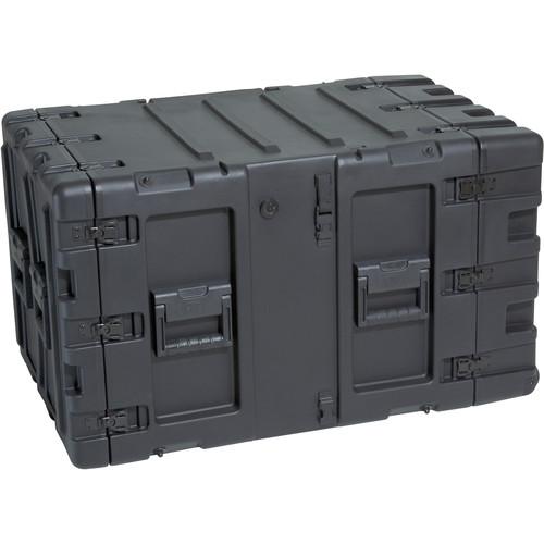 """SKB 3RR-9U24-25B 9U Removable Shock Rack and Transport Case (24"""")"""