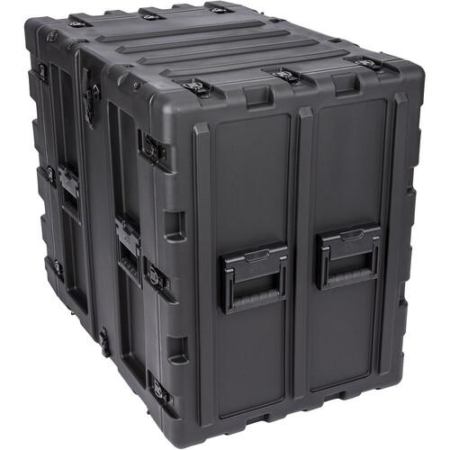 """SKB Transport Case for 14 RU 24"""" Deep Static Shock Rack"""