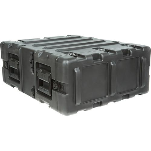 """SKB 20"""" Static Shock Rack Transport Case (3 RU, Black)"""