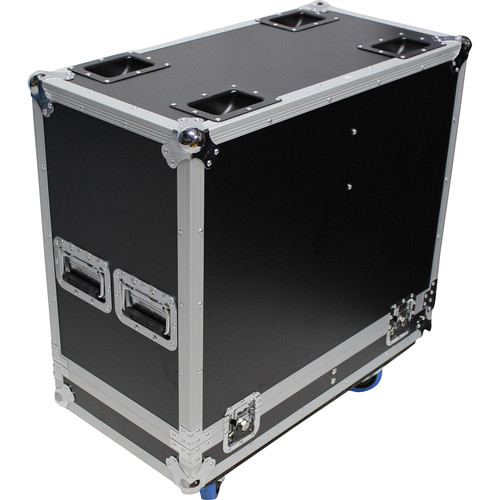 "ProX Universal Dual ATA-Style Speaker Flight Case for 15"" Speakers (Black)"