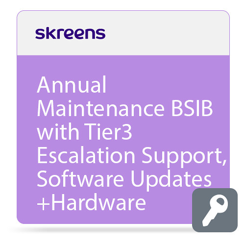 Skreens Annual Maintenance BSIB with Tier3 Escalation Support,Software Updates+Hardware Replacement In Year1
