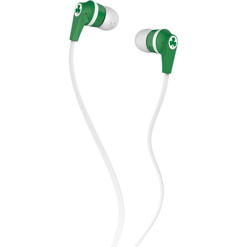 Skullcandy INK'D 2.0 Earbud Headphones (NBA Boston Celtics)